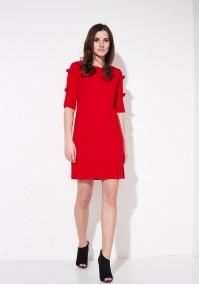 Sukienka 1770 (czerwona)