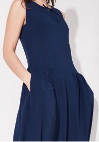 Sukienka 1169 (granatowa)