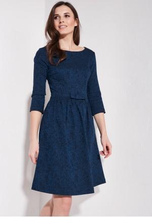 Rozkloszowana elegancka sukienka