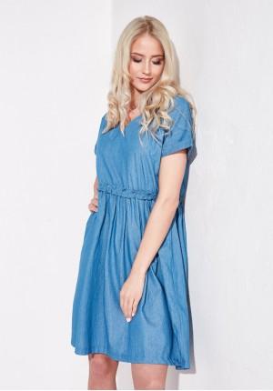 Sukienka 1193 (niebieska)