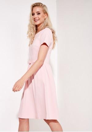 Sukienka 1182 (różowa)