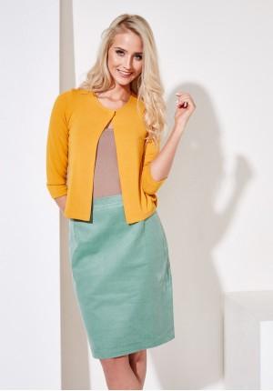 Sweter 8915 (żółty)