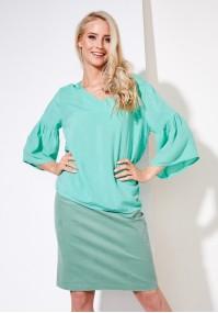 Aquamarine summer dress