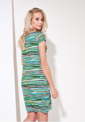 Sukienka 1273 (z zielonym)