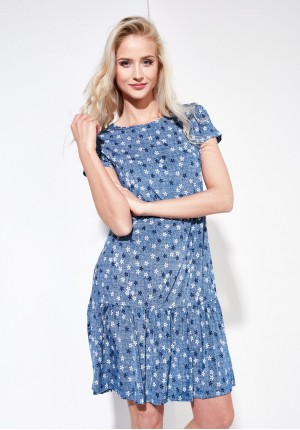 Sukienka 1279 (niebieska)