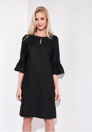 Sukienka 1364 (czarna)