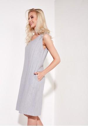 Sukienka 1385 (szara)