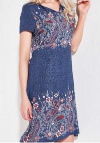 Sukienka 1149 (granatowa)