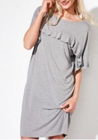 Grey straight dress
