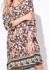Sukienka 1231 (różowa)