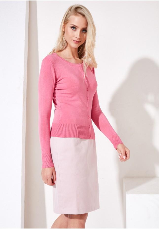 Sweter 8718 (landrynkowy różowy)