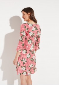 Summer dress with flowers