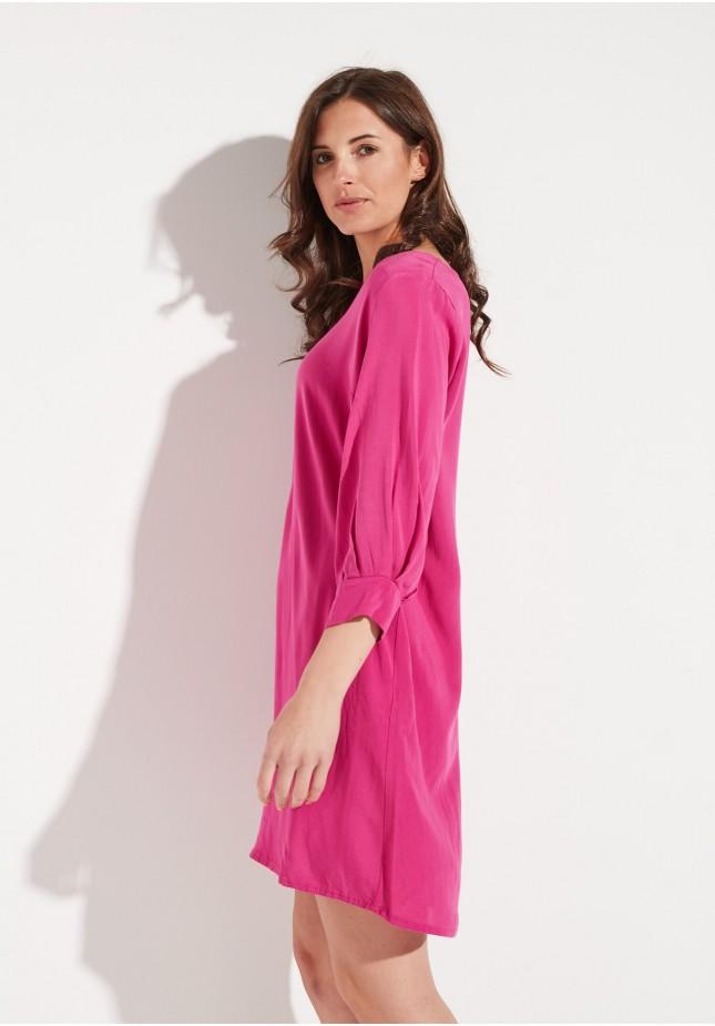 Pink straight dress