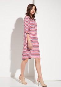 Sukienka w kolorowe paski
