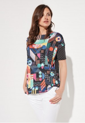 Colourful blouse
