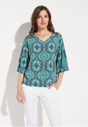 Green Summer Blouse