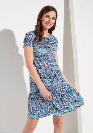Smock Boho Dress
