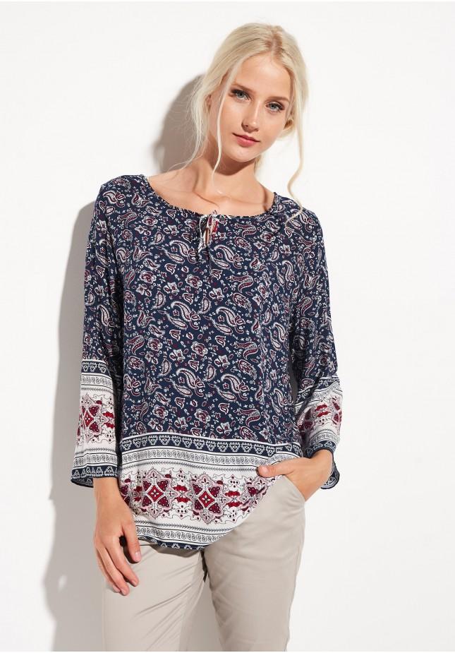 Bluzka w stylu hippie