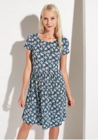 Sukienka odcinana w talii