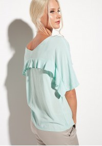 Light turquoise Blouse