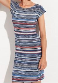 Sukienka w paski poziome