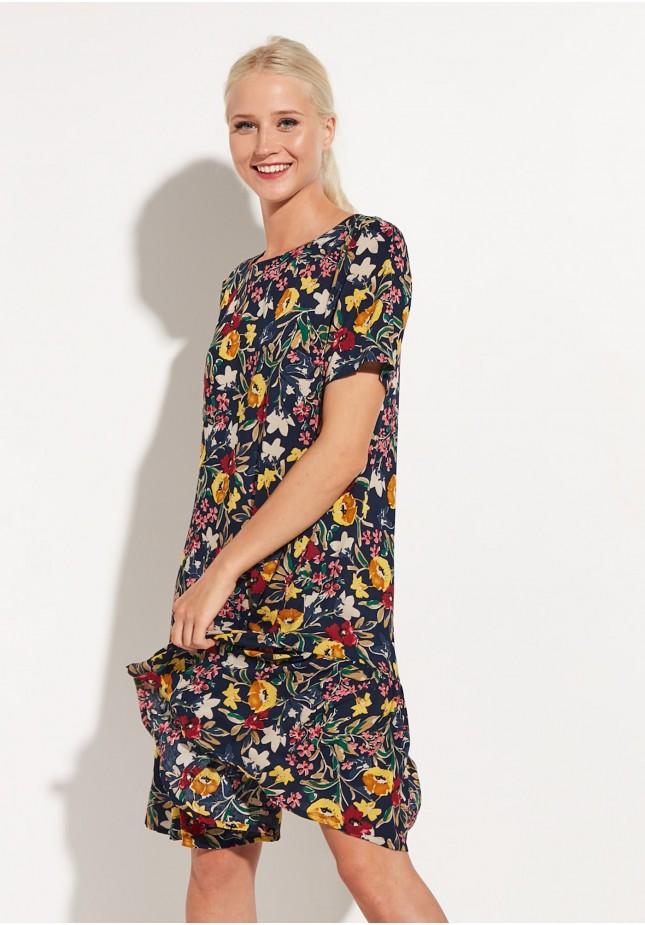 Sukienka 1211 (granatowa)
