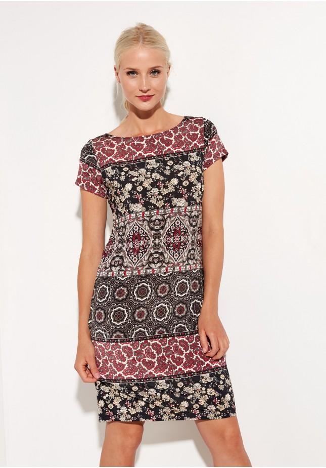 Sukienka 1322 (z czerwonym)