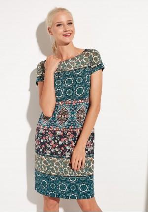 Sukienka 1322 (zielona)