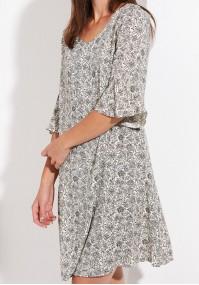 Trapezowa cienka sukienka