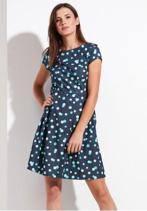 Sukienka 1158 (z zielonym)