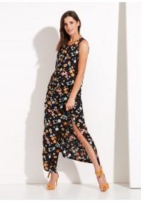 Long flowery dress