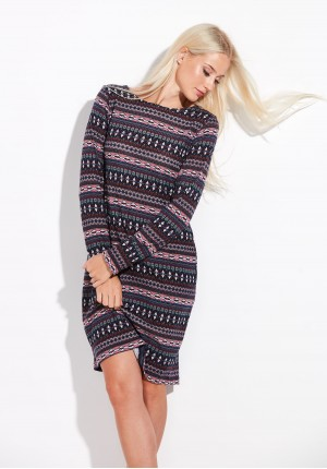 Knitted Dress with Pockets