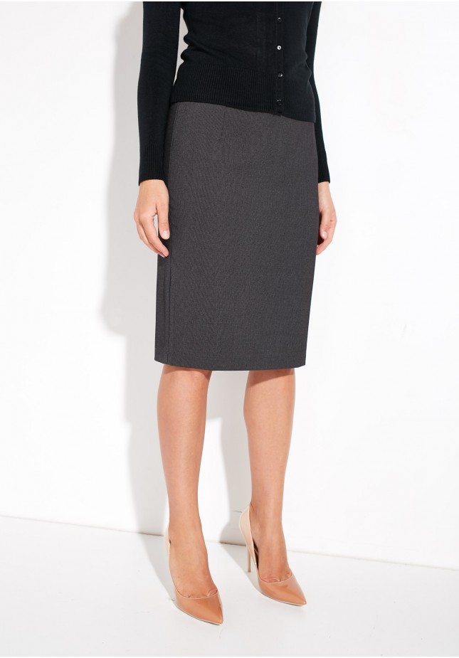 Graphite Pencil Skirt