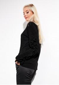 Czarny Sweter