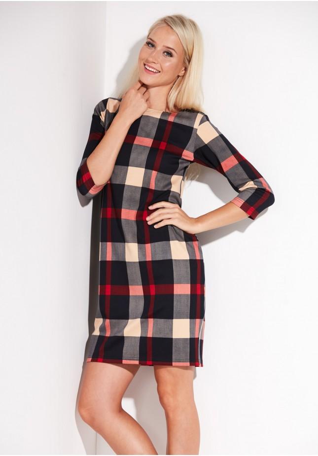 Tartan autumn Dress