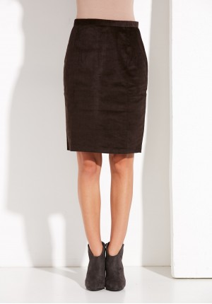 Corduroy brown Skirt