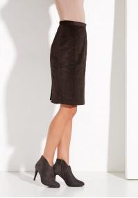 Corduroy brown Skirt
