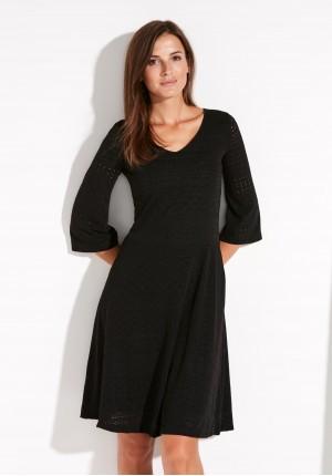 Black openwork Dress