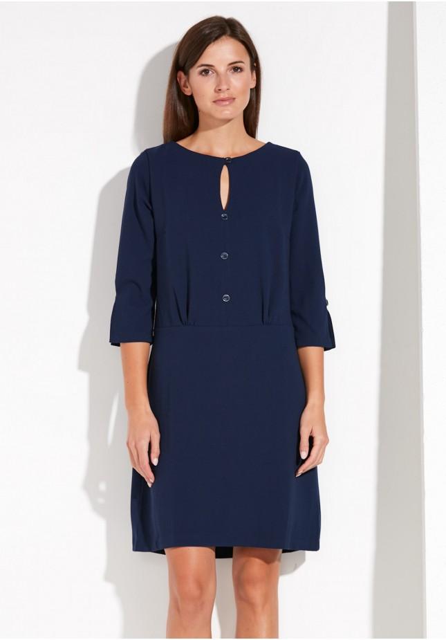Elegancka Sukienka z guzikami