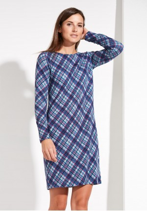 Pastel checkered Dress