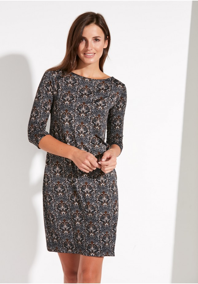 Simple Paisley Dress