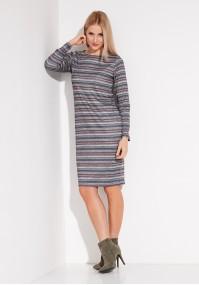 Warm striped Dress