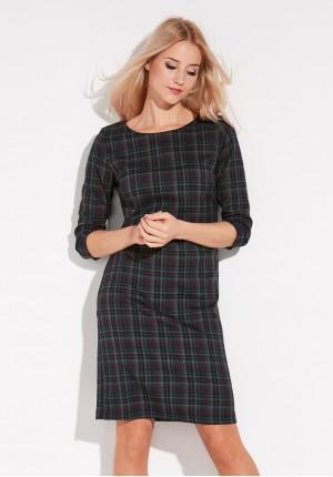 Dark checkered Dress