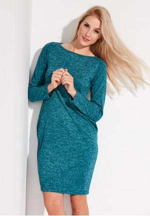 Warm turquoise Dress