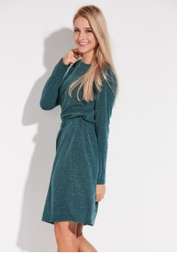 Turquoise Dress with elastic band