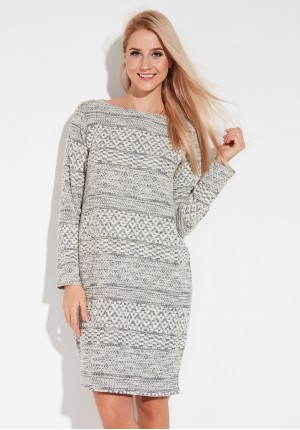 Knitted light Dress