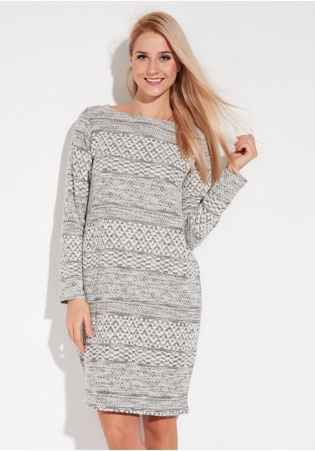 Knitted light Dress