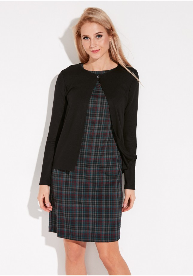 Black Sweater with one button
