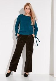 Sztruksowe brązowe Spodnie