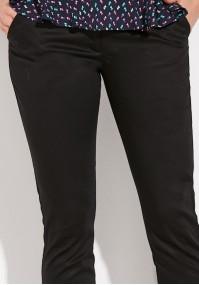 Czarne klasyczne Spodnie